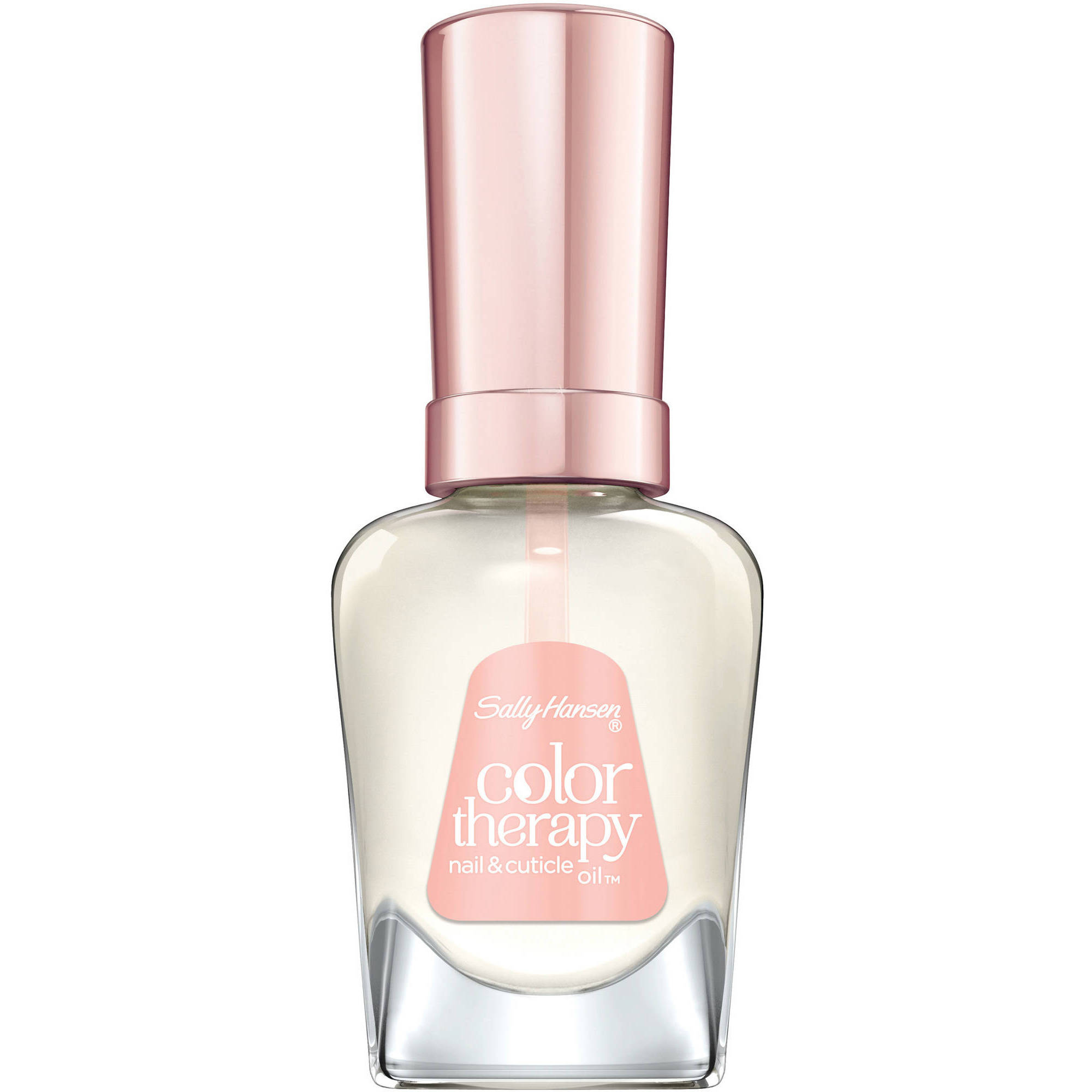 Sally Hansen Color Therapy Nail & Cuticle Oil, .5 fl oz - Walmart.com