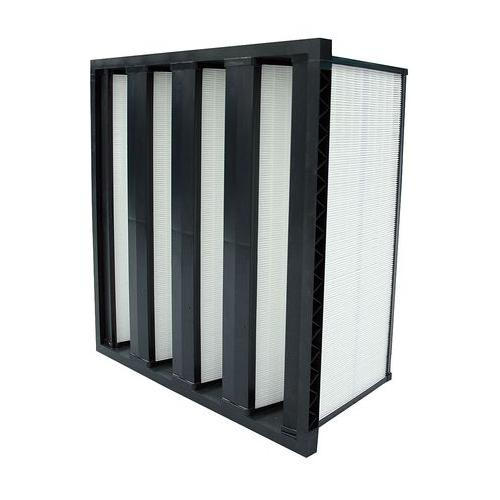 Air Handler 11Z815 100% Synthetic Media 20x24x12 V-Bank Air Filter