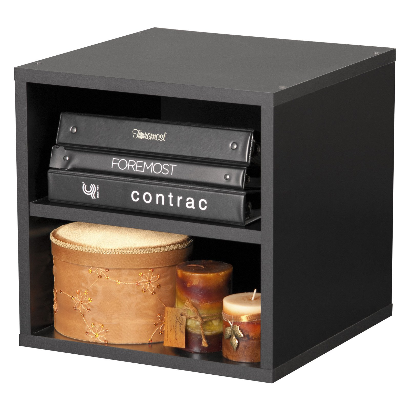 Modular Shelf Cube, Black