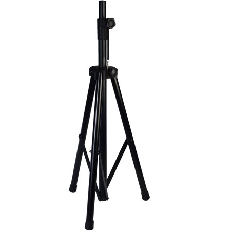LyxPro SKS-1 Adjustable Height Non-Slip Speaker Stand 1-3/8 and 1-1/2 sockets