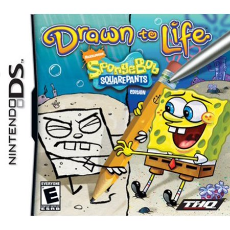 Drawn to Life: SpongeBob SquarePants Edition - Nintendo DS (Refurbished) ()