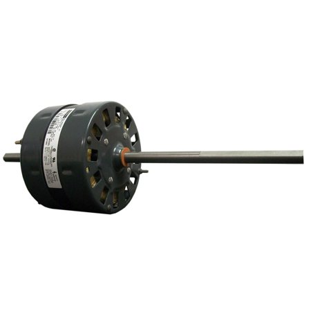 Fasco D1092 5.0-Inch OEM Direct Replacement Motor, 1/3 HP, 115 Volts, 1675 RPM, 2 Speed, 3.4 Amps, OAO Enclosure, Double Shaft, Sleeve Bearing