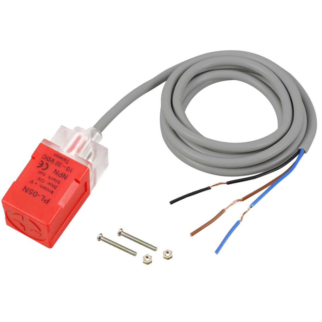 Pl 05n 5mm Inductive Proximity Sensor Switch Detector Npn No Dc 10 3wire In This Case You Would Just Connect The Brown Wire 30v 200ma
