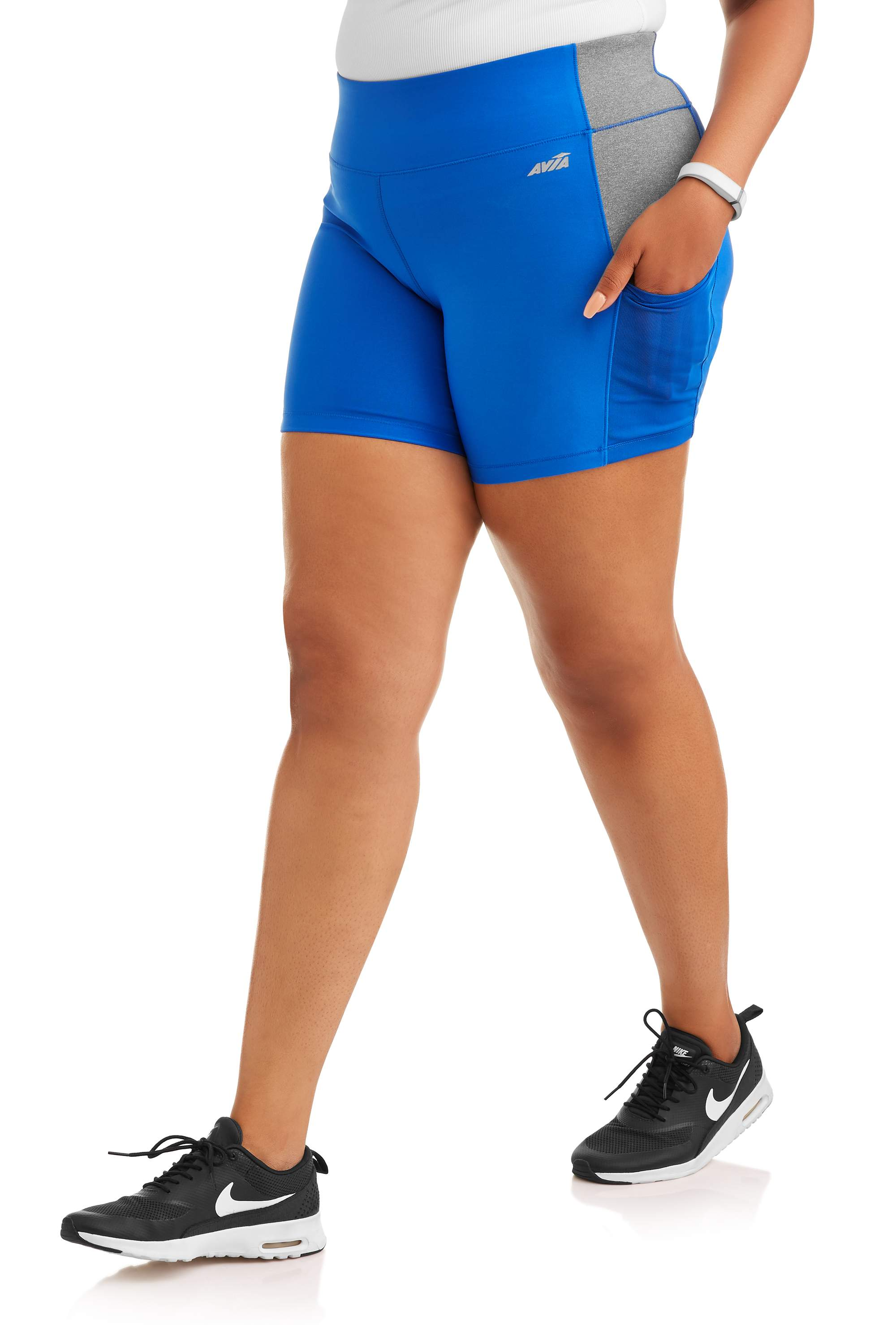Women's Plus Size Need for Speed Short with Built-In Side Pocket