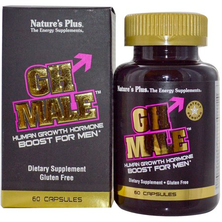 Nature's Plus, GH Male, Human Growth Hormone for Men, 60 Capsules(pack of 1) ()