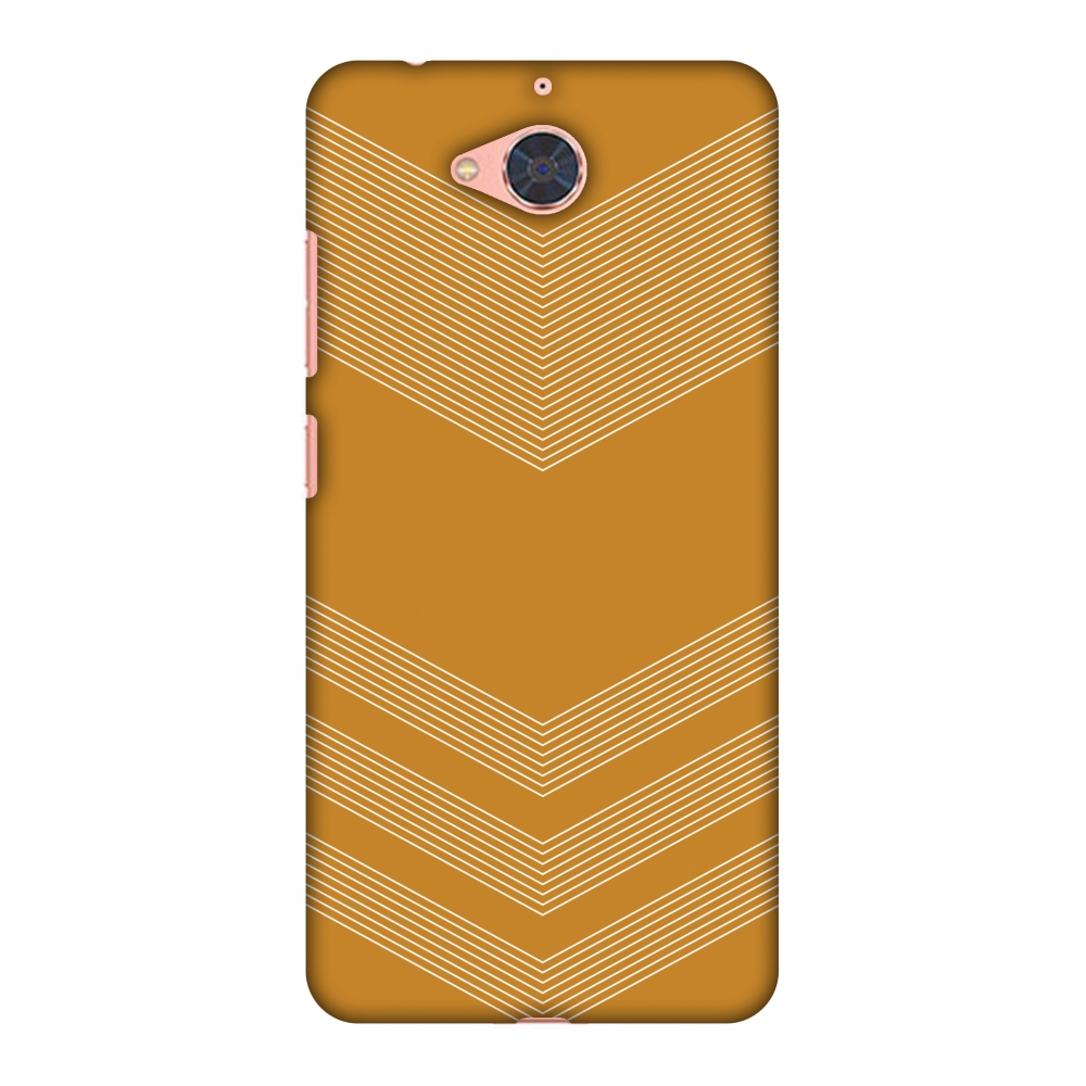 Gionee S6 Pro Case, Premium Handcrafted Printed Designer Hard Snap On Case Back Cover with Screen Cleaning Kit for Gionee S6 Pro - Carbon Fibre Redux Desert Sand 2