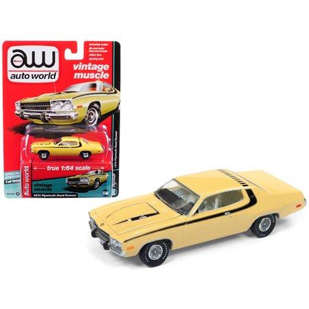 1974 Plymouth Road Runner Yellow Blaze