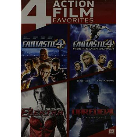 Elektra / Fantastic Four / Daredevil (Director's Cut) / Fantastic Four 2: Rise Of The Silver Surfer