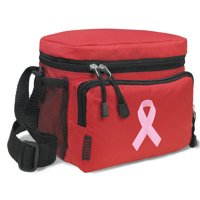 Pink Ribbon Lunch Bags Soft Pink Ribbon  Cooler