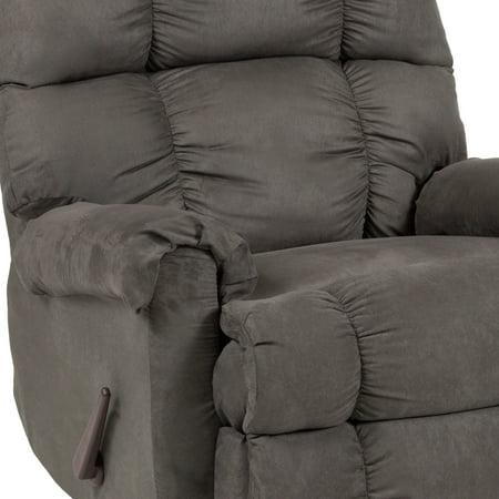 Flash Furniture Sierra Graphite Microfiber Rocker Recliner