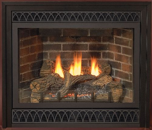 "Direct-Vent 42"" NG Intermittent Pilot Control Fireplace with Blower"