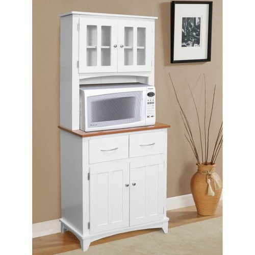 Red Barrel Studio Lewisburg Microwave Cart
