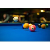 Canvas Print Sport Activity Game Cue Leisure Pool Balls Fun Stretched Canvas 10 x 14