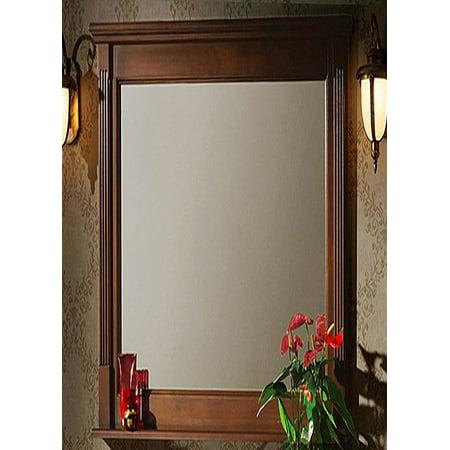 24 in vanity mirror light walnut. Black Bedroom Furniture Sets. Home Design Ideas