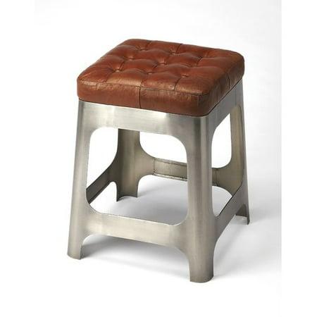 Sensational 17 Stories Taj Iron And Leather 20 Bar Stool Walmart Com Dailytribune Chair Design For Home Dailytribuneorg