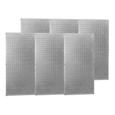 Wall Control 35-P-3296GV Round Pegboard, 32 In. H