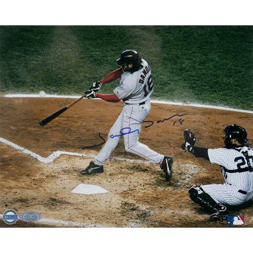 MLB - Johnny Damon Boston Red Sox - 2004 ALCS Game 7 Grand Slam - 8x10 Autographed Photograph