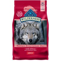 Blue Buffalo Wilderness High Protein Grain Free, Natural Adult Dry Dog Food, Salmon 4.5-lb