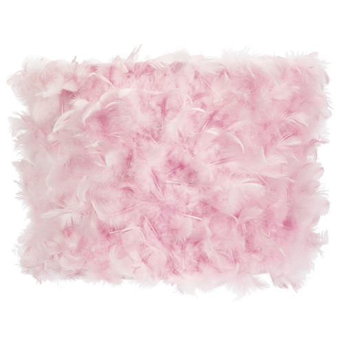 Jubilee Collection Feather 12'' Drum Lamp Shade