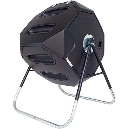 Lifetime 65-Gallon Compost Tumbler, Black