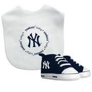 MLB New York Yankees Bib & Prewalker Baby Gift Set