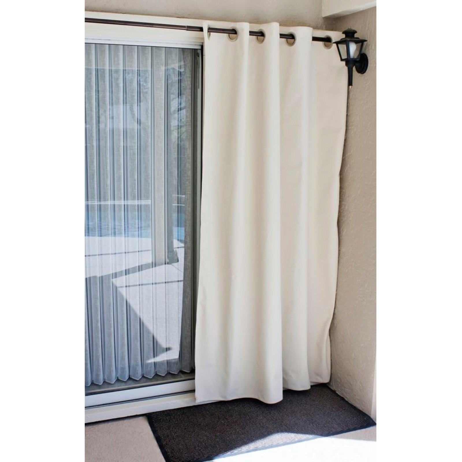 Coolaroo Outdoor Privacy Curtain - Parchment