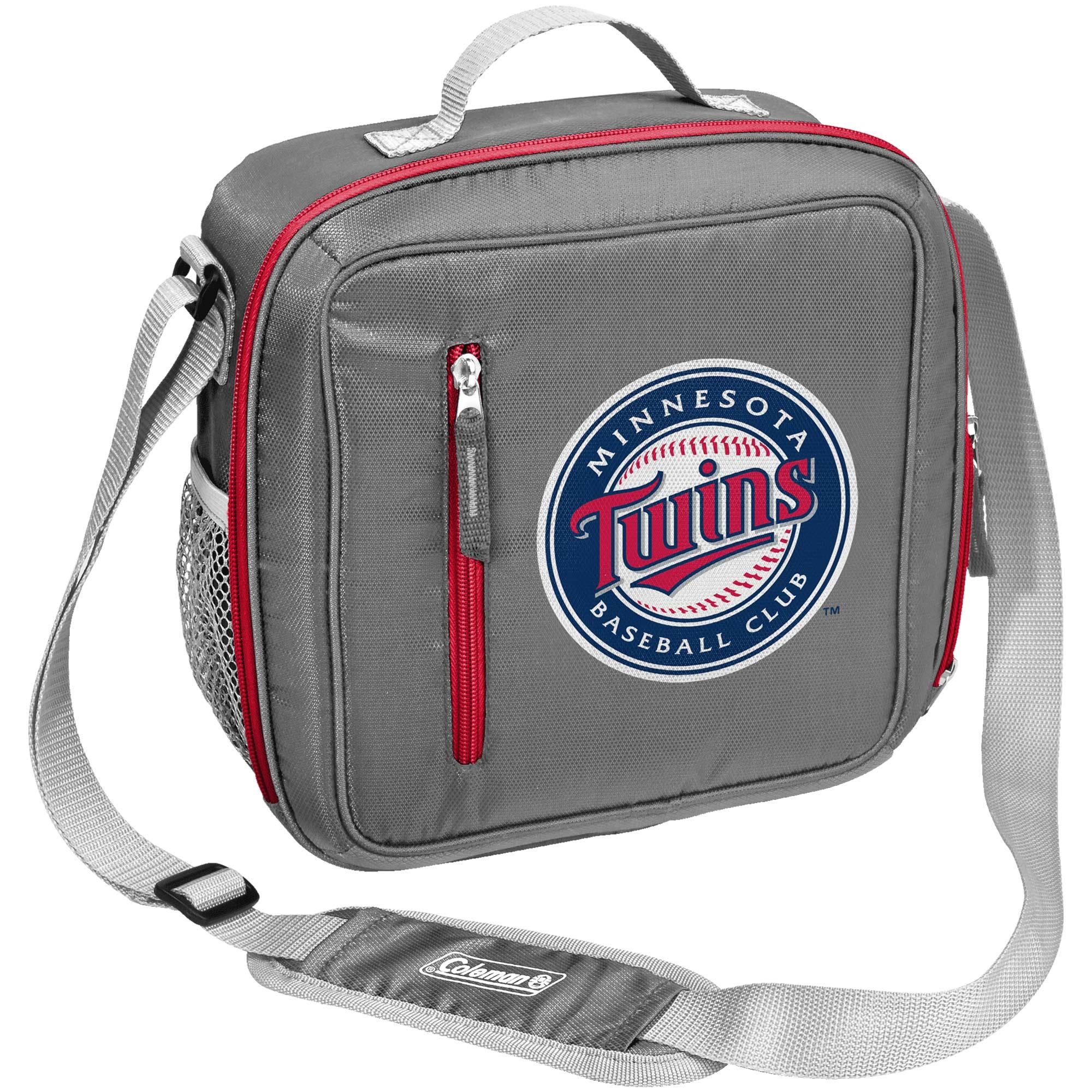 Minnesota Twins Coleman Team Logo Messenger Cooler - No Size