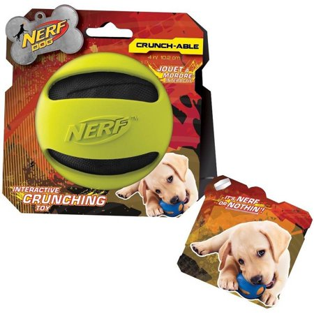 Nerf Dog Crinkle Balls, Green