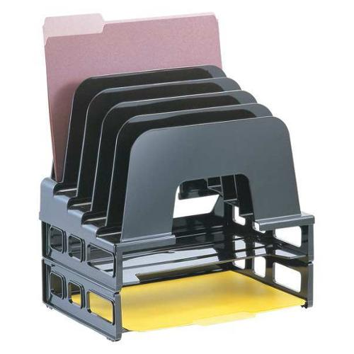 "9"" Large Incline Sorter, Black ,Officemate, 22112"