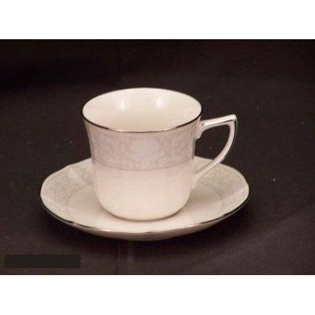 CUP/SAUCER IMPERIAL LACE 7375, Discontinued China By Noritake