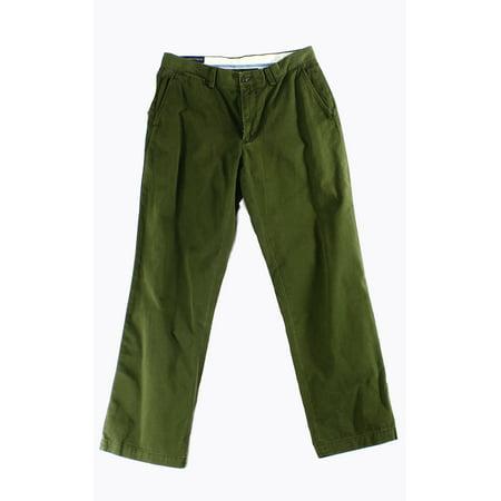 Polo Ralph Lauren Chino - Polo Ralph Lauren NEW Green Mens Size 38x32 Classic-Fit Chino Pants
