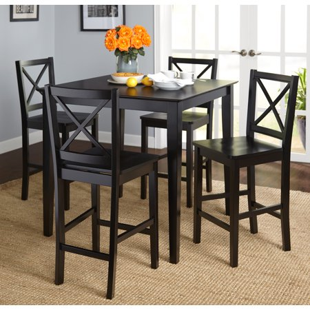 Virginia 5 Piece Counter Height Set Multiple Colors
