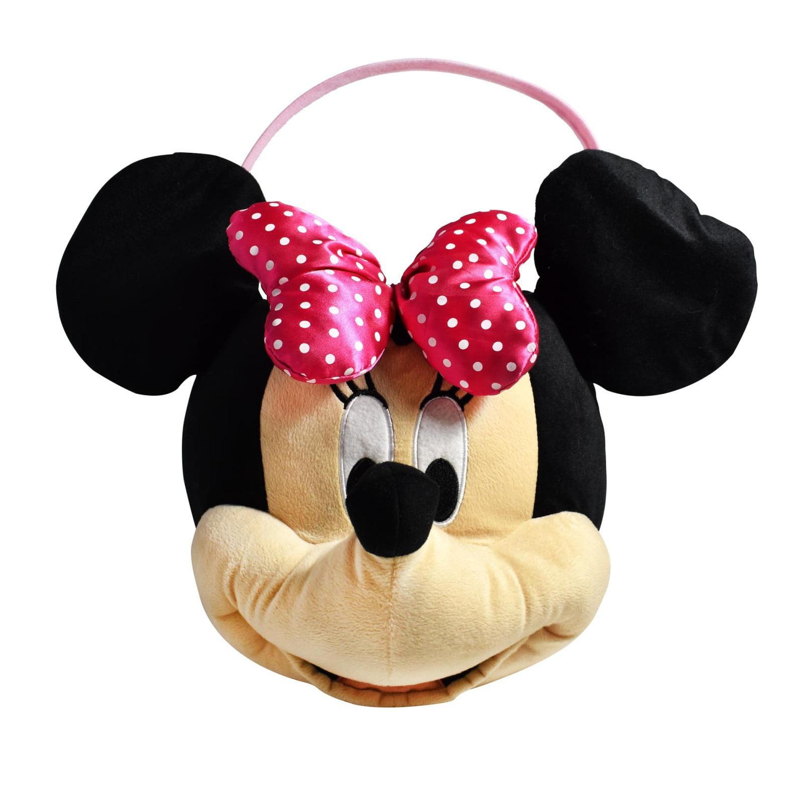 Disney Minnie Mouse Jumbo Plush Easter Basket