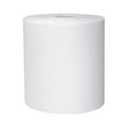 """Kleenex Non-perforated Paper Towel - 12 / Carton - 8"""" x 425 ft - White - Paper   12 Roll/Case"""