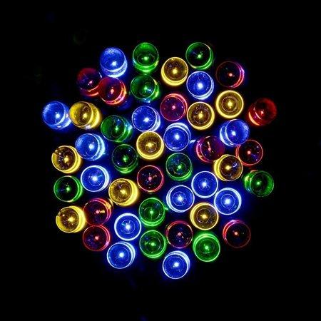 Qedertek Solar Lights Christmas Solar String Lights 100 LED 56ft Fairy Lighti