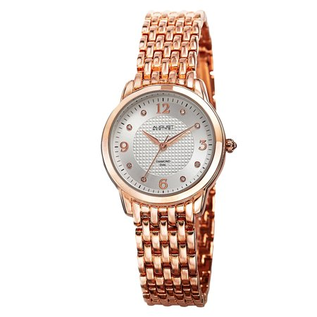 Women's Diamond-Accented Swiss Quartz Bracelet Watch ()
