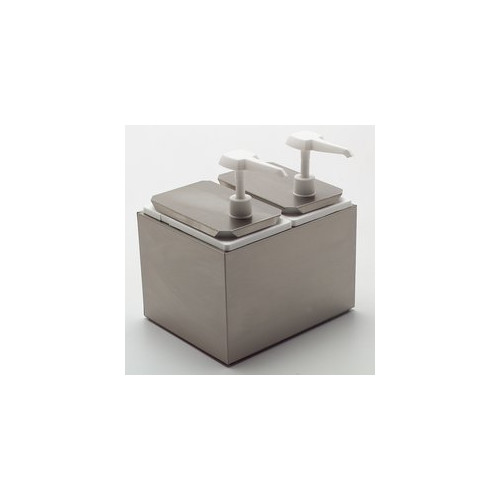 Carlisle Food Service Products Standard Dispenser with 2 ...
