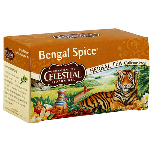 Celestial Seasonings Bengal Spice Tea, 20ct (Pack of 6)