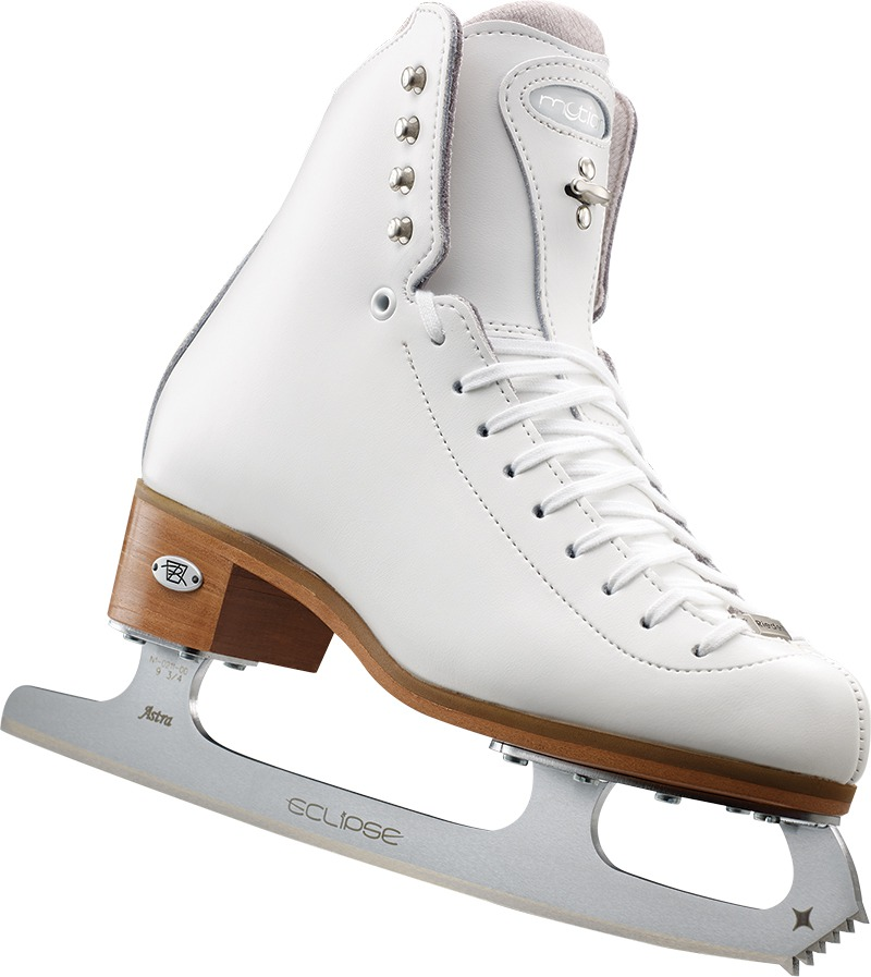 Riedell 25 Motion Junior Girls Figure Skates With Astra Blades by