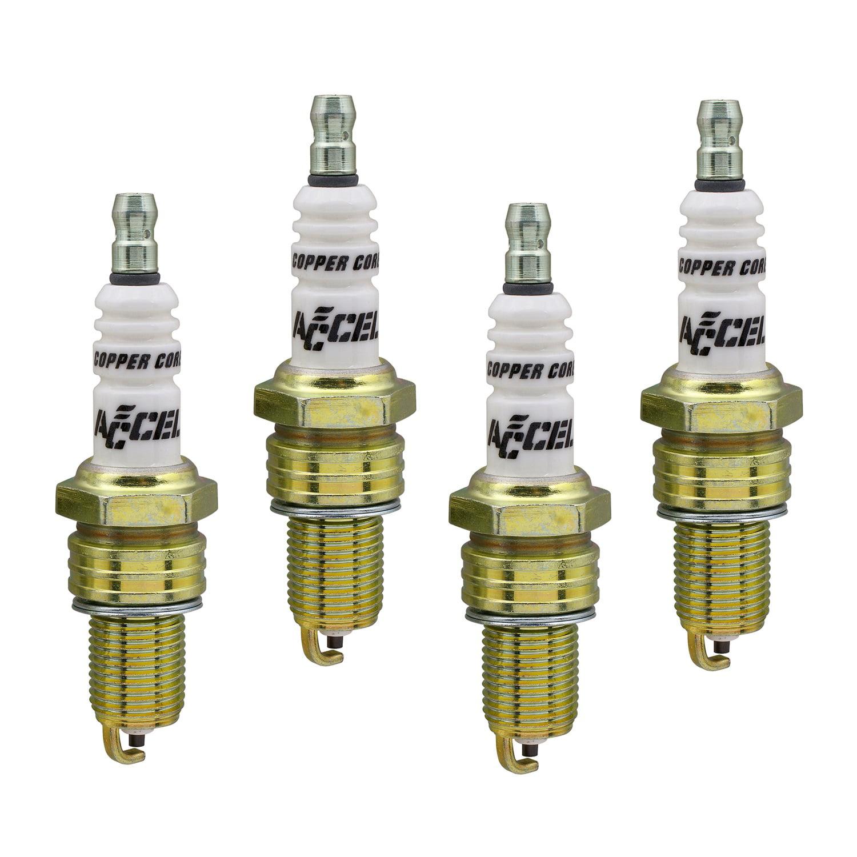 ACCEL 0494-4 U-Groove Resistor Spark Plug