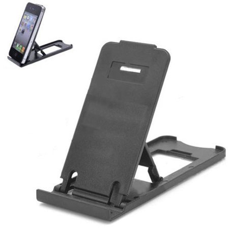 Folding Rifle - Black Ultra Slim and Compact Folding Stand Compatible With ASUS ZenFone V Live Max Plus M1 AR 5z 5Q 4 Pro 3 Max, ROG Phone, Google Nexus 7 2 7 - Barnes & Noble NOOK HD+ HD Color J1Z