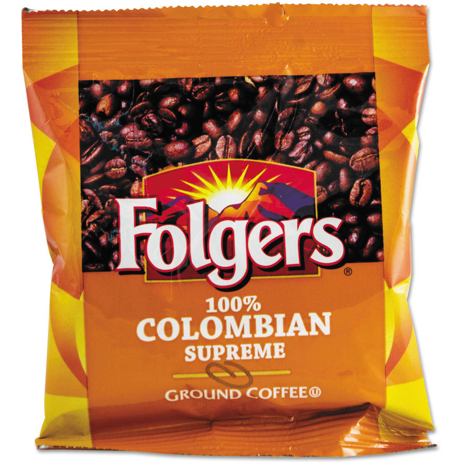 Folgers Colombian Ground Coffee, 42ct