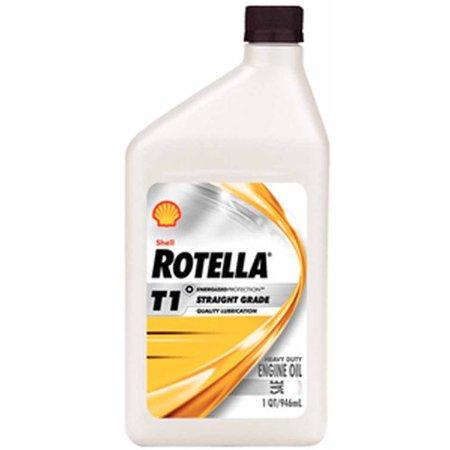 Shell Oil Rotella 30 Weight Diesel Oil Qt 550019903