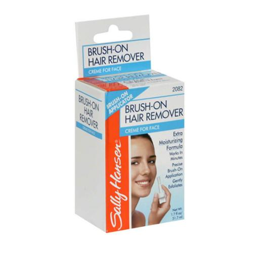 Sally Hansen Brush-On Hair Remover Creme for Face 1.7 oz (Pack of 6)
