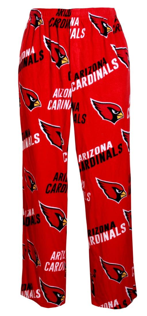 "Arizona Cardinals NFL ""Playoff"" Men's Micro Fleece Pajama Pants by Concept Sports"
