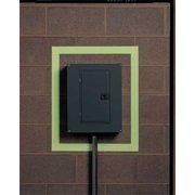 """White/Phosphorescent Glow-in-the-Dark Marking Tape, Value Brand, 8TRF01""""W"""