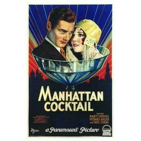 Manhattan Cocktail Movie Poster (11 x 17)