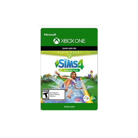 The SIMS 4: Backyard Stuff, Electronic Arts, Xbox One, [Digital