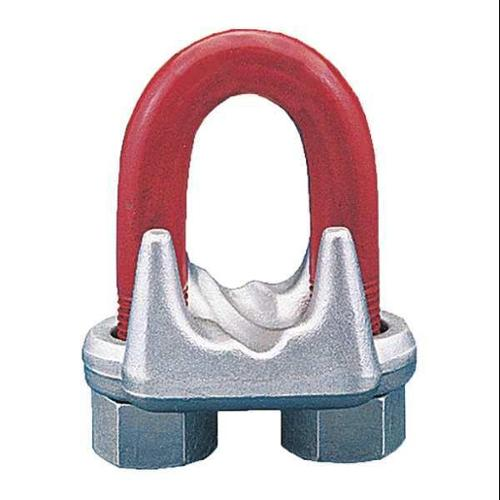 CROSBY 1010033 Wire Rope Clip,U-Bolt,3/16in