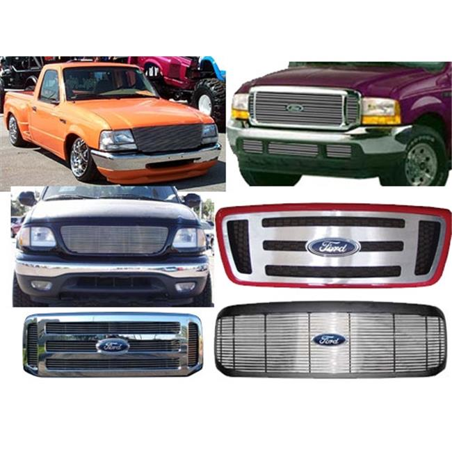 AirBagIt BIL-FO-29 Billet Grille 1997-1998 Ford F-150 Ins...